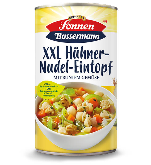 Sonnen Bassermann XXL Hühner Nudeltopf