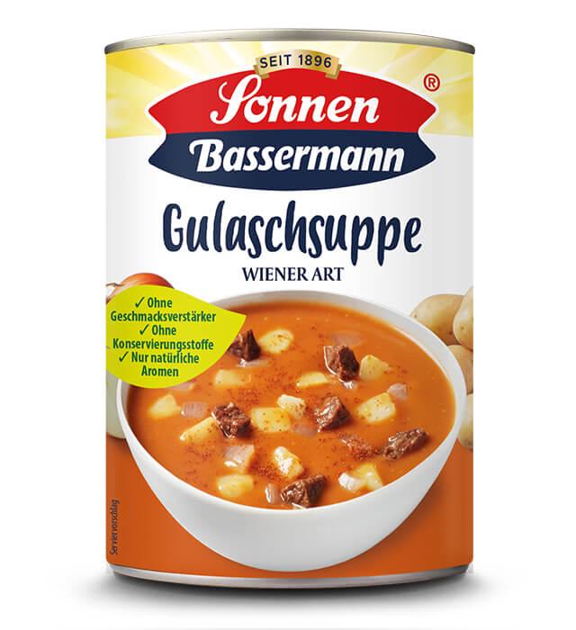 Sonnen Bassermann Gulaschsuppe Wiener Art