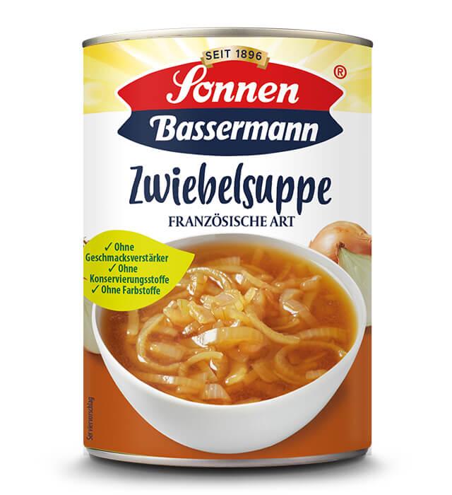 Sonnen Bassermann Zwiebelsuppe