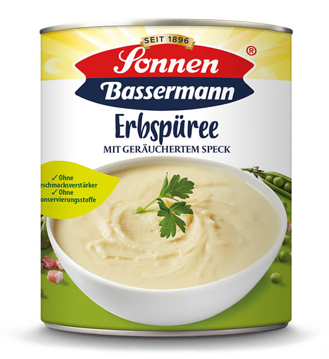 Sonnen Bassermann Erbspuree