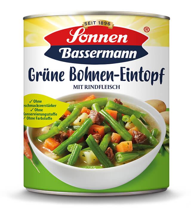 Sonnen Bassermann Grüne Bohnentopf
