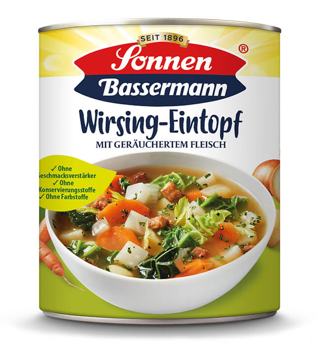 Sonnen Bassermann Wirsingtopf