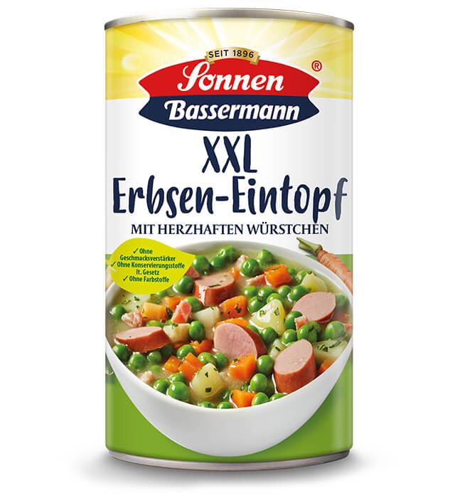 Sonnen Bassermann XXL Erbsentopf