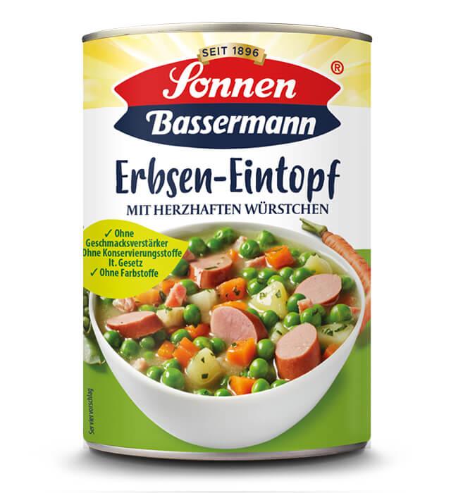 Sonnen Bassermann Erbsen-Eintopf